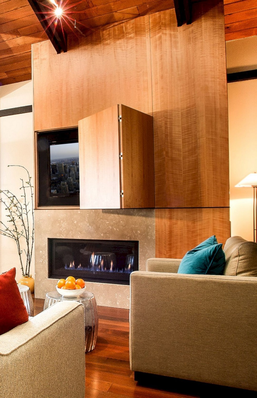 tv8 Hidden TV ideas for a more subtle decor in your home