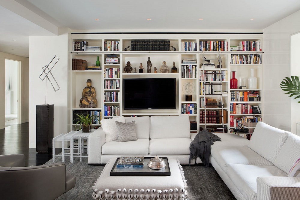 tv13 Hidden TV ideas for a more subtle decor in your home
