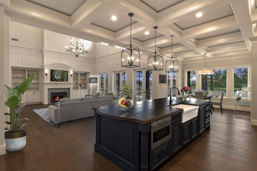 lid3 Great ideas for coffered ceilings that you can try and the associated costs
