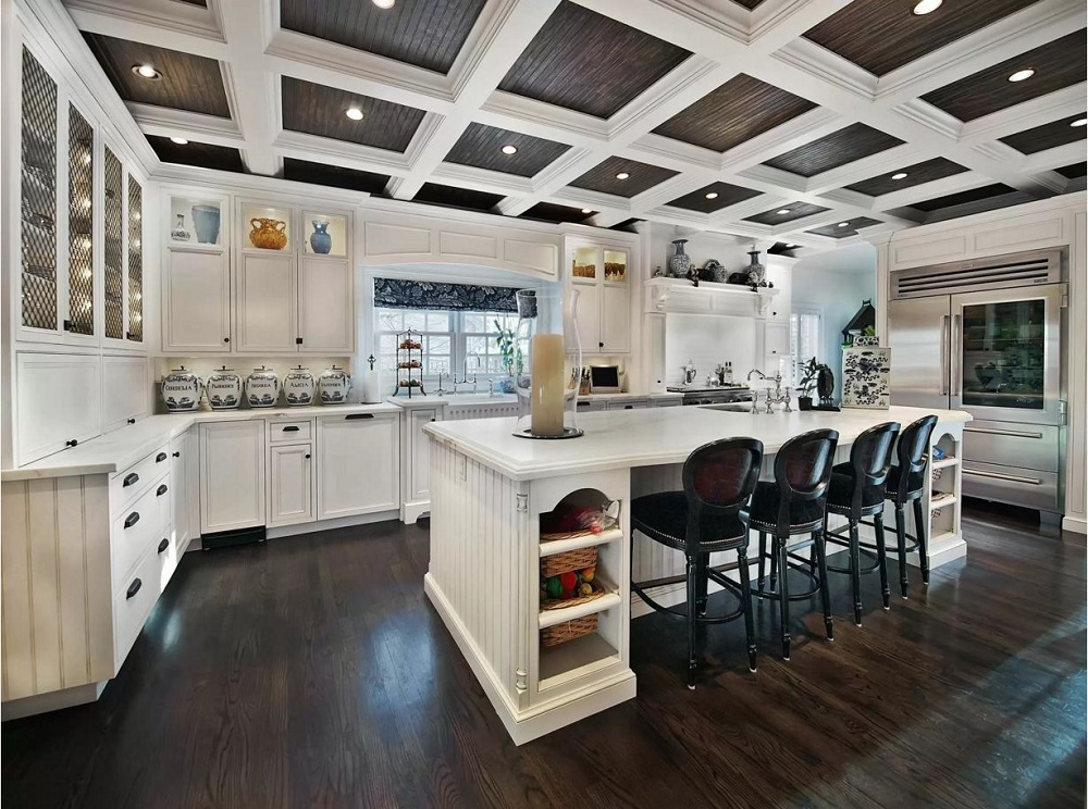 Ceil10 Great ideas for coffered ceilings that you can try and the costs involved