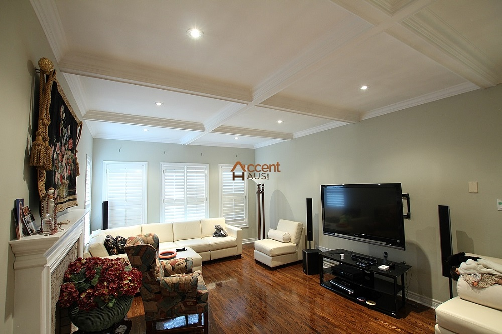 lid9 Great ideas for coffered ceilings that you can try and the associated costs