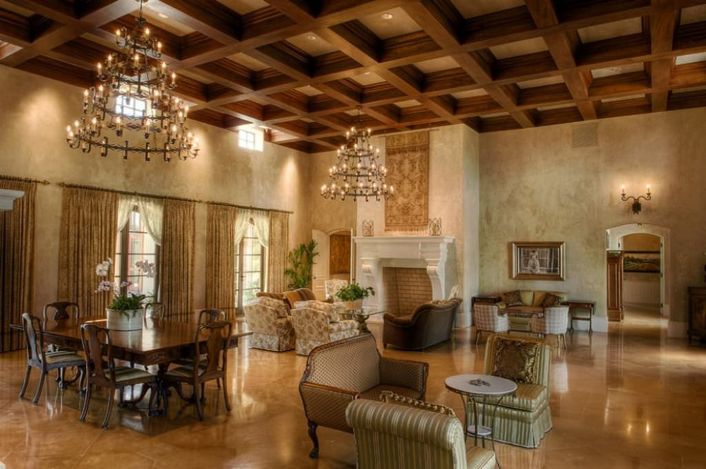 Ceil8-1 Great ideas for coffered ceilings that you can try and the costs involved