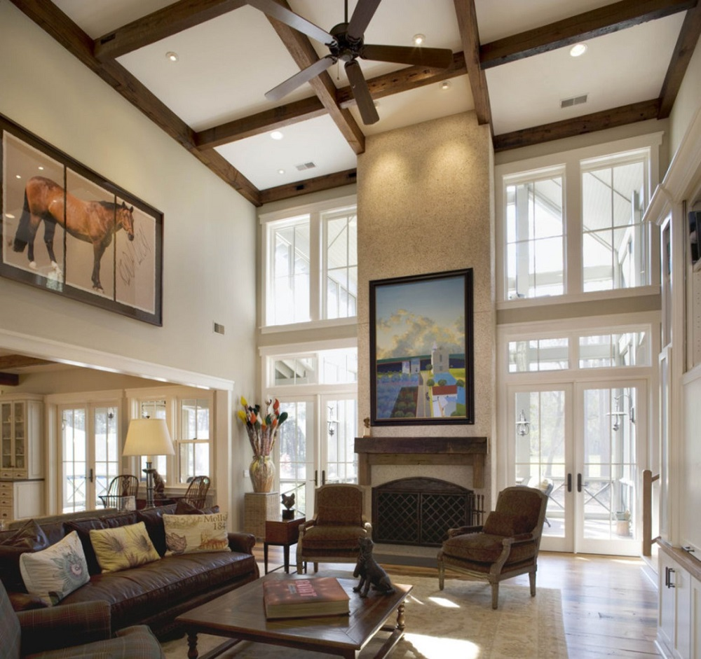 lid7 Great ideas for coffered ceilings that you can try and the associated costs