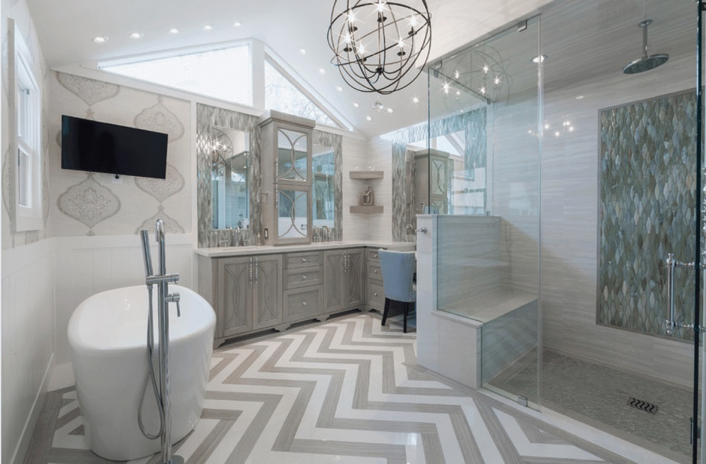 wb5 ideas and tips for walk-in showers (cost, size and more)