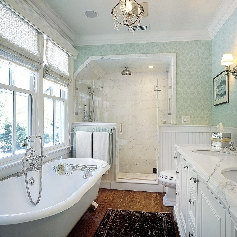 w1-1 How to take full advantage of these ideas for bathrooms with wood paneling
