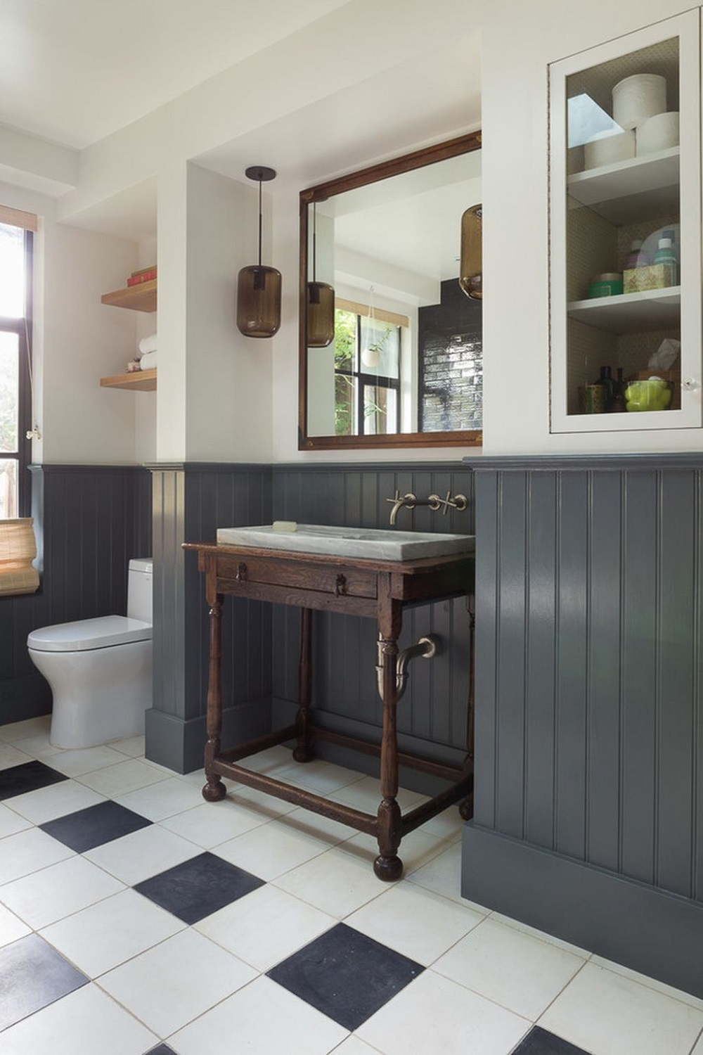 w11 How to take full advantage of these clad bathroom ideas