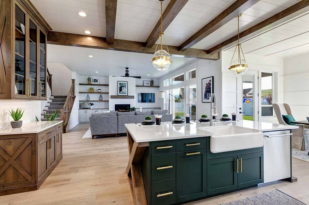 f3 The modern farmhouse decor and how to style it
