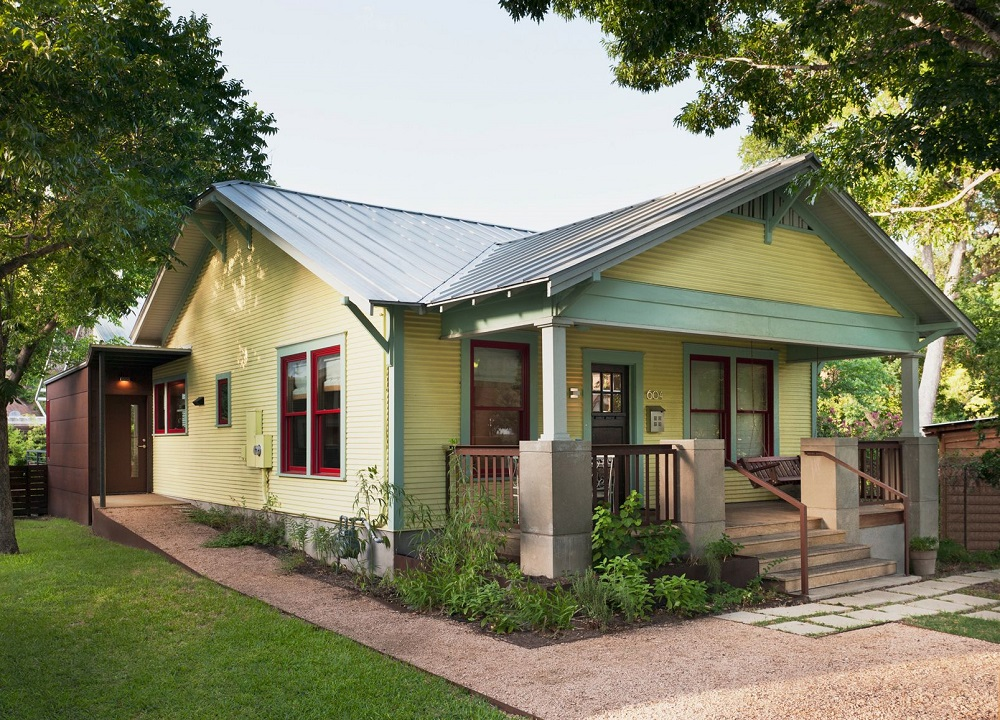 bu11 The house in bungalow style and its special properties