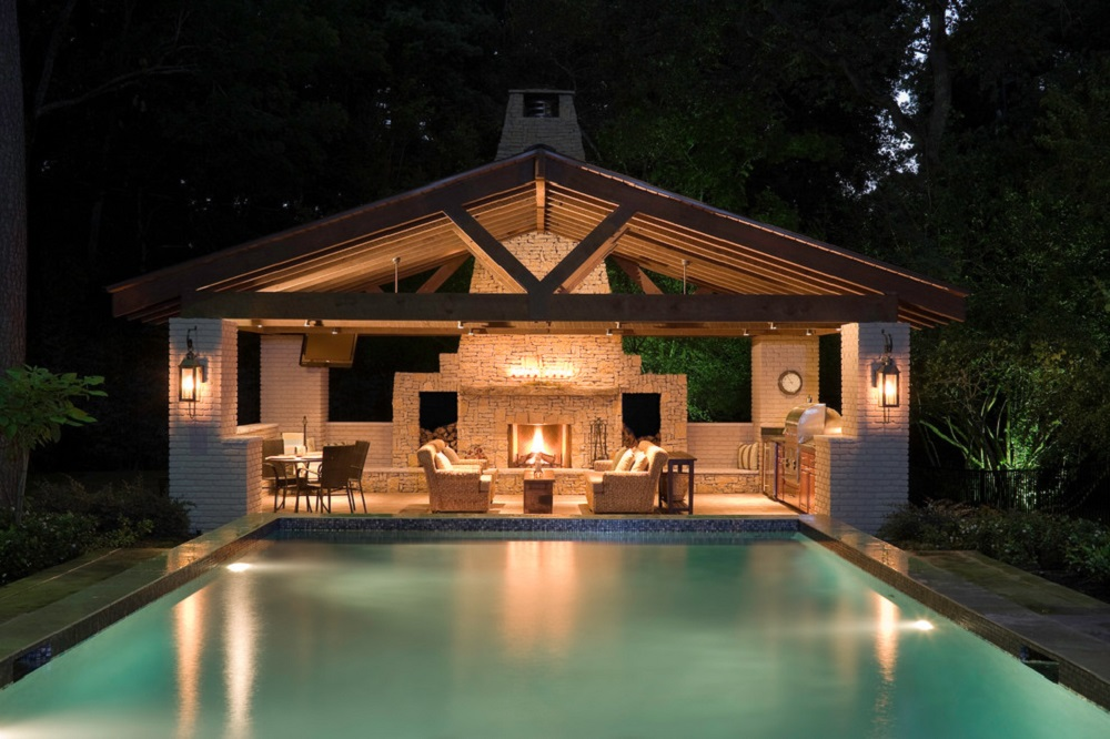 p13 Awesome pool house designs that will make your pool room look great