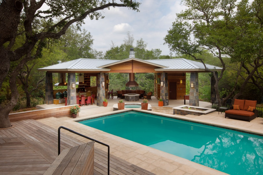 p14 Fantastic pool house designs that make your pool room look great