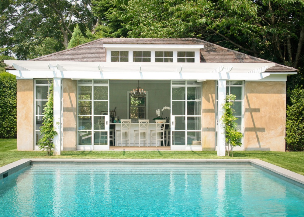 p16 Fantastic pool house designs that make your pool room look great