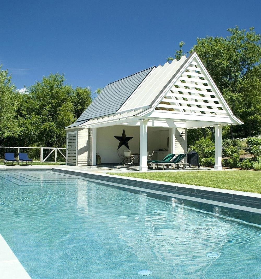 p15 Awesome pool house designs that will make your pool room look great
