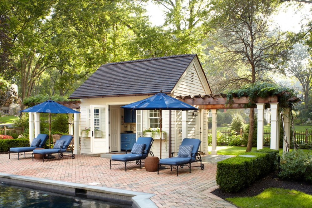 p5 Awesome pool house designs that will make your pool room look great