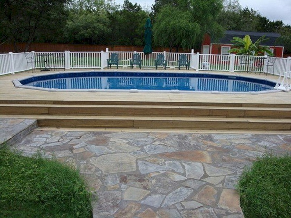 ag3 Cool above ground pool decks to use as inspiration for your own