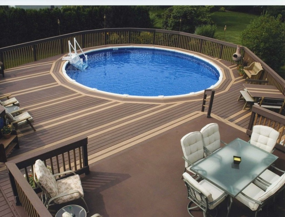 ag8 Cool above ground pool decks to use as inspiration for your own