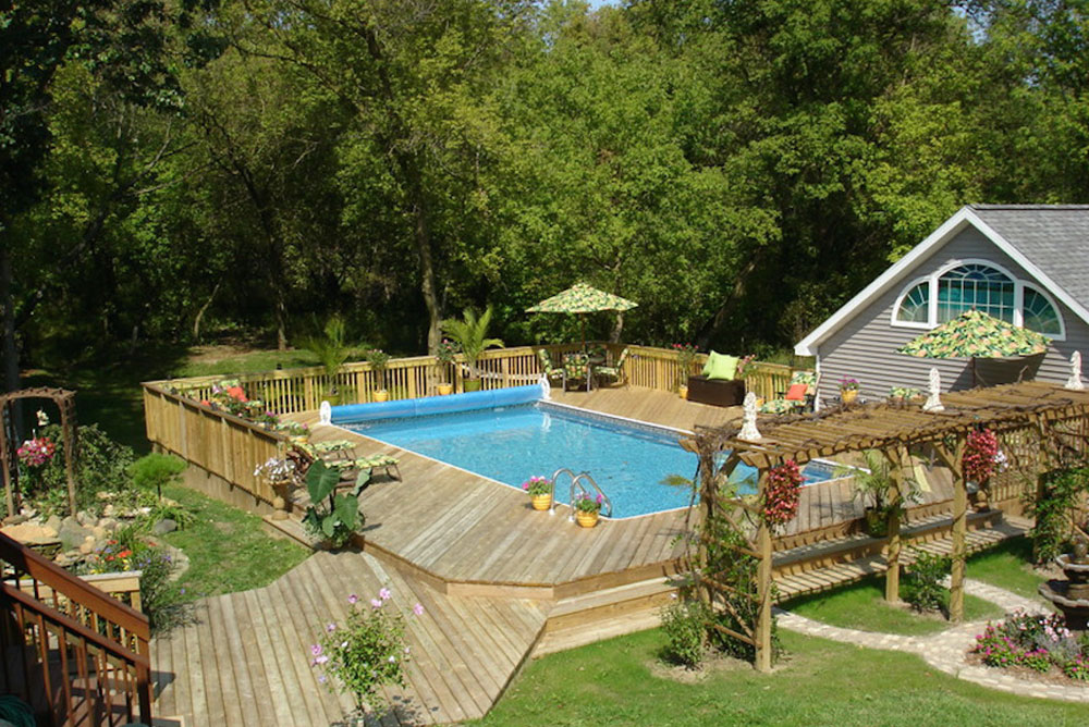 ag5 Cool above-ground pool decks as inspiration for your own