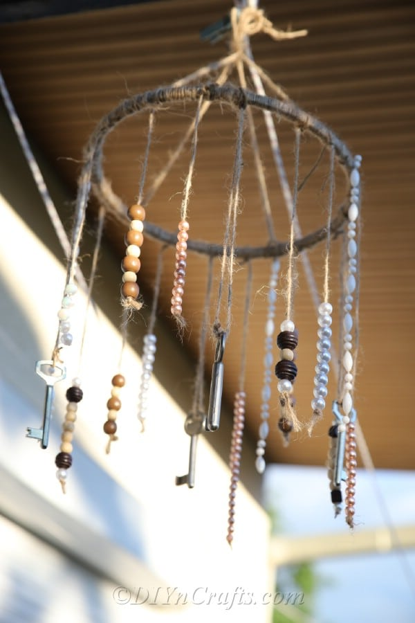 chan4 How to make wind chimes at home (great DIY examples)
