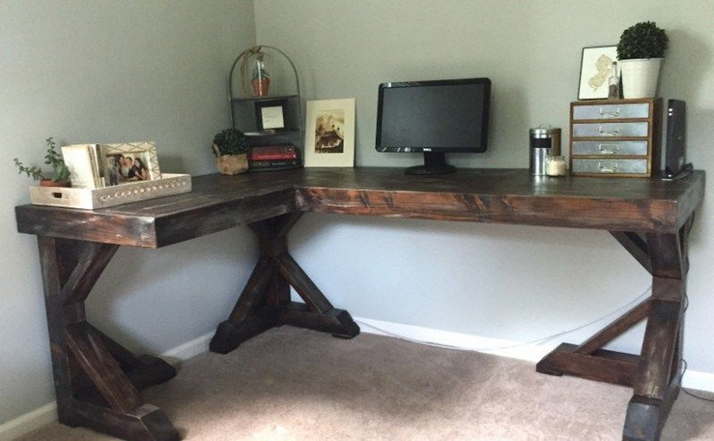 dk12 These DIY desk ideas are a great way to build your own desk
