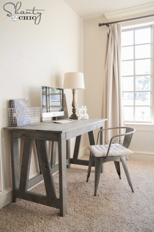 dk18 With these DIY desk ideas you can build your own desk