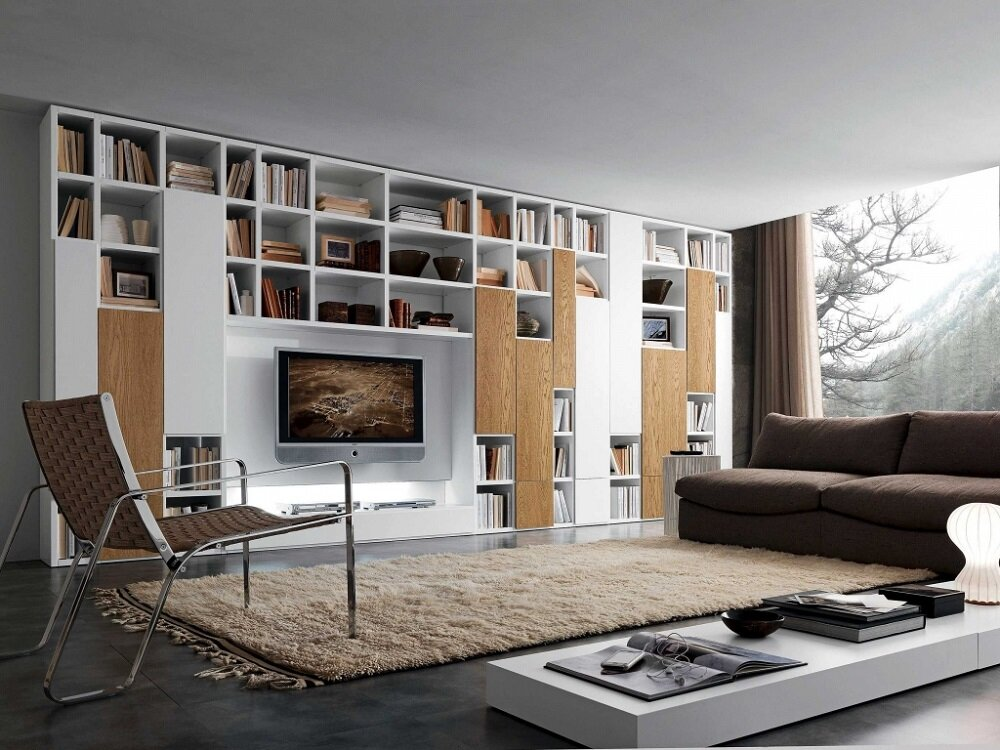 ms6-2 Modular shelving systems and how you can decorate them