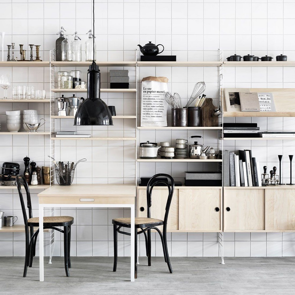 mod4 modular shelving systems and how you can decorate them