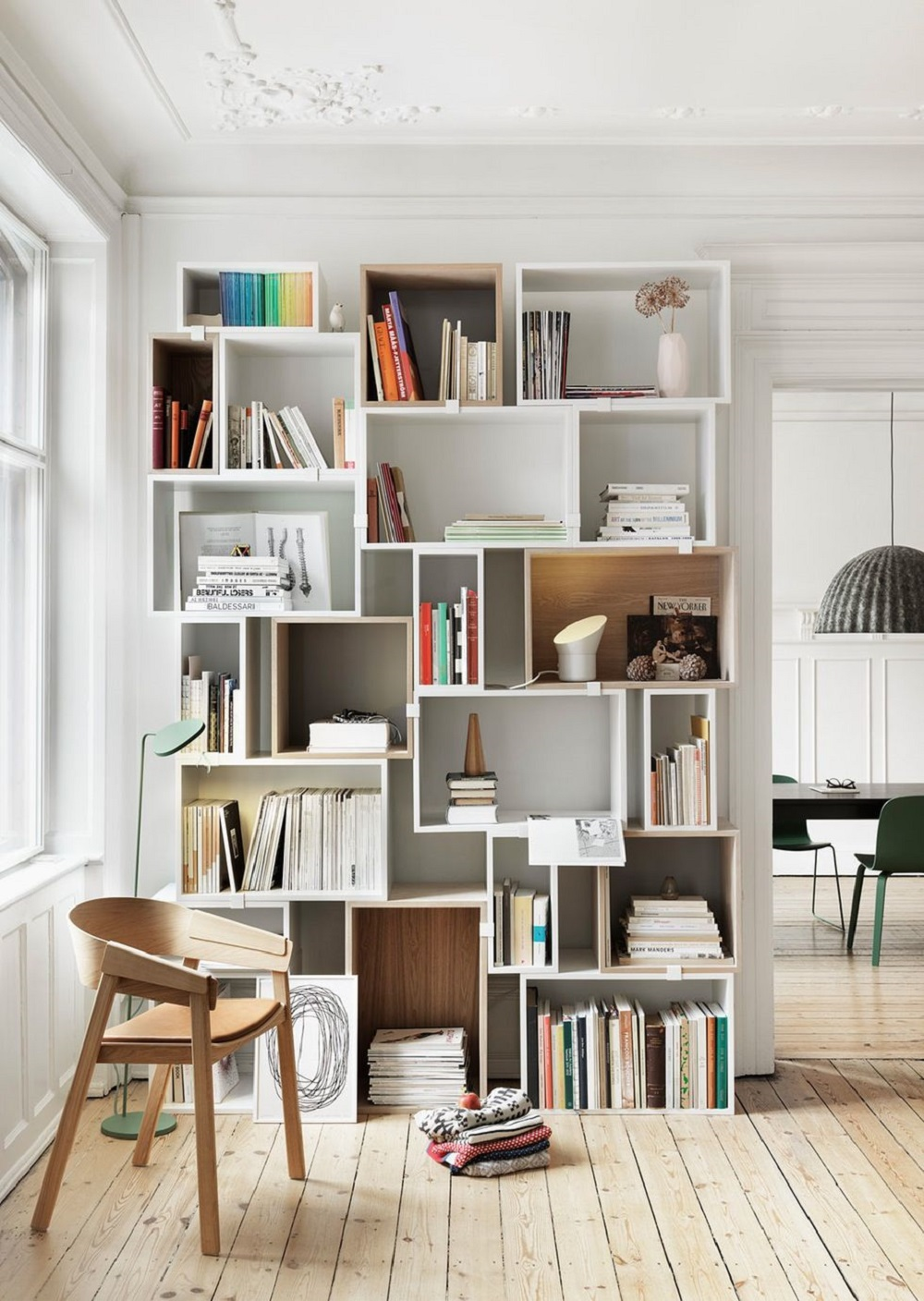 ms7 Modular shelving systems and how you can decorate them
