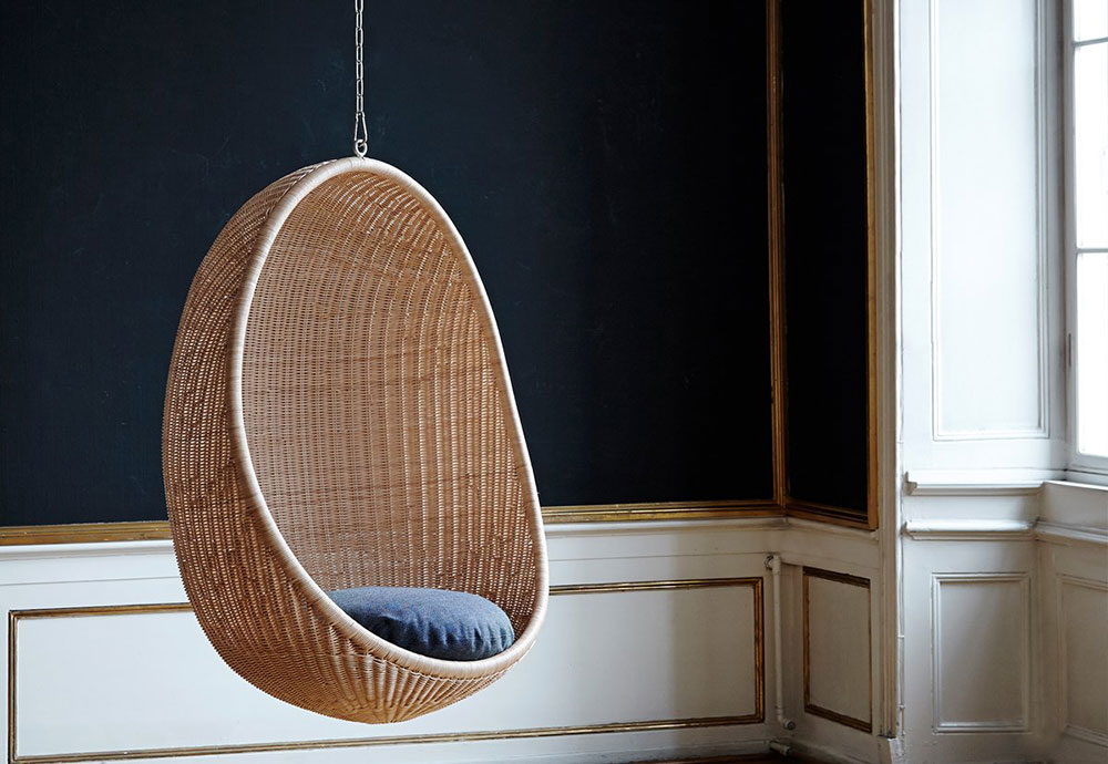 hanging egg chair Sika design tips and ideas for furnishing your living room