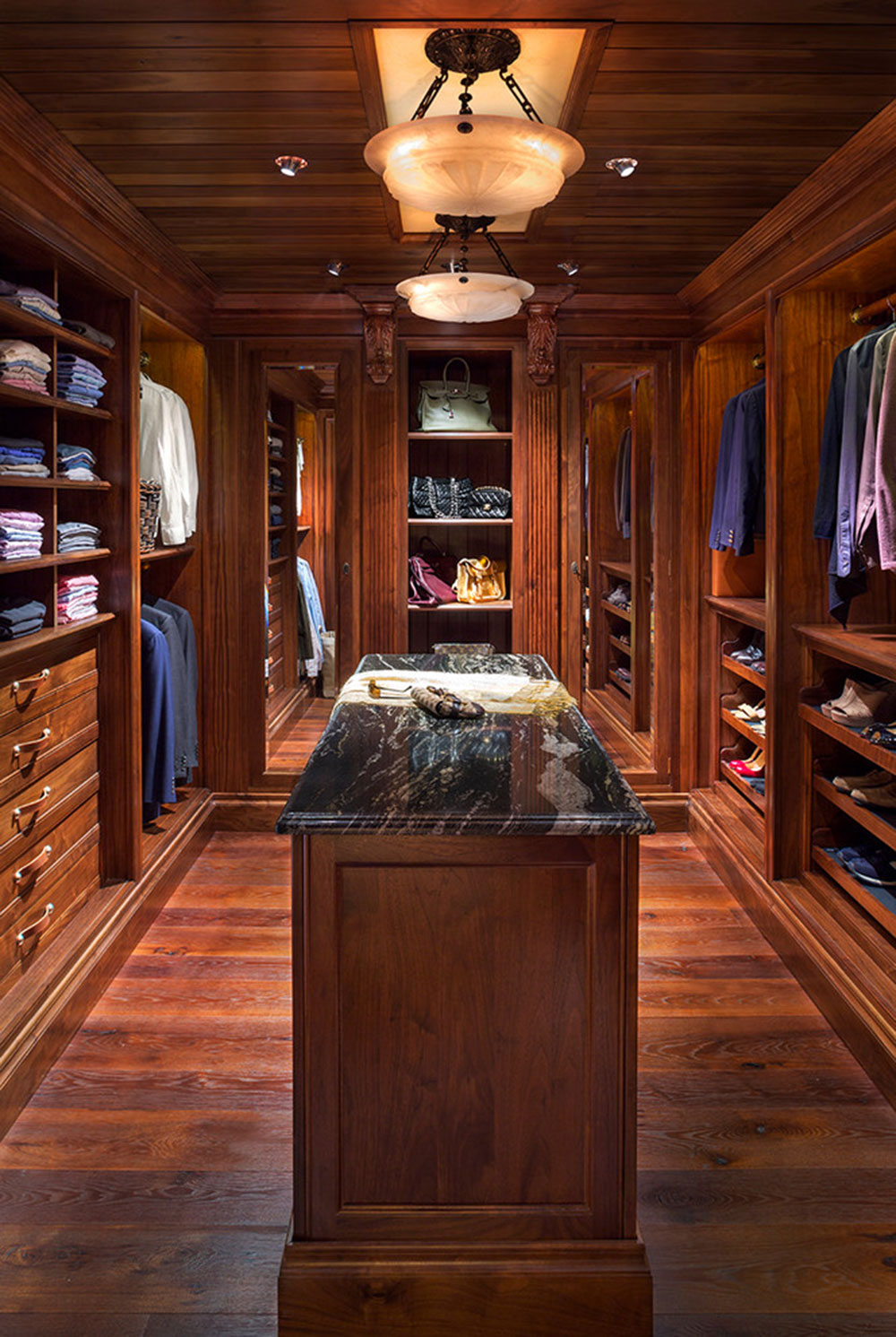 wc14 Cool ideas for walk-in closets that you should have in your home