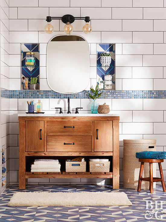 van7 DIY bathroom vanity ideas and options to try