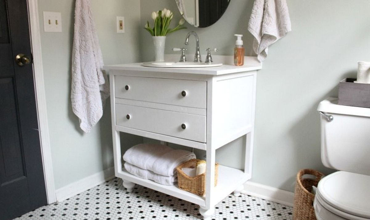 vanity4 DIY bathroom vanity ideas and options you can try