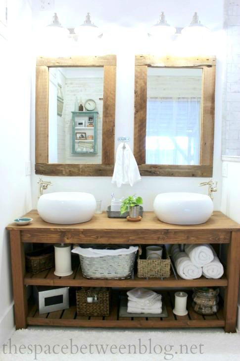 van5 DIY bathroom vanity ideas and options you can try