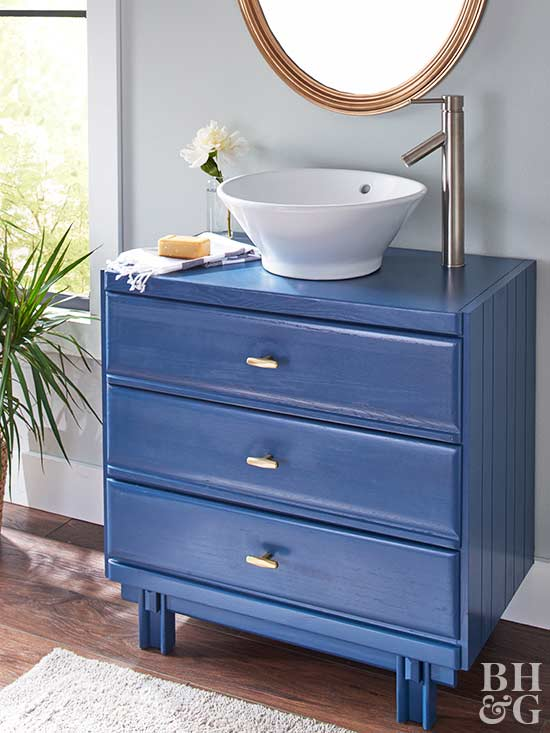 van6 DIY bathroom vanity ideas and options that you can try
