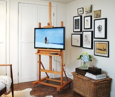 tv2 DIY TV Stand ideas and examples that you can put up in your home