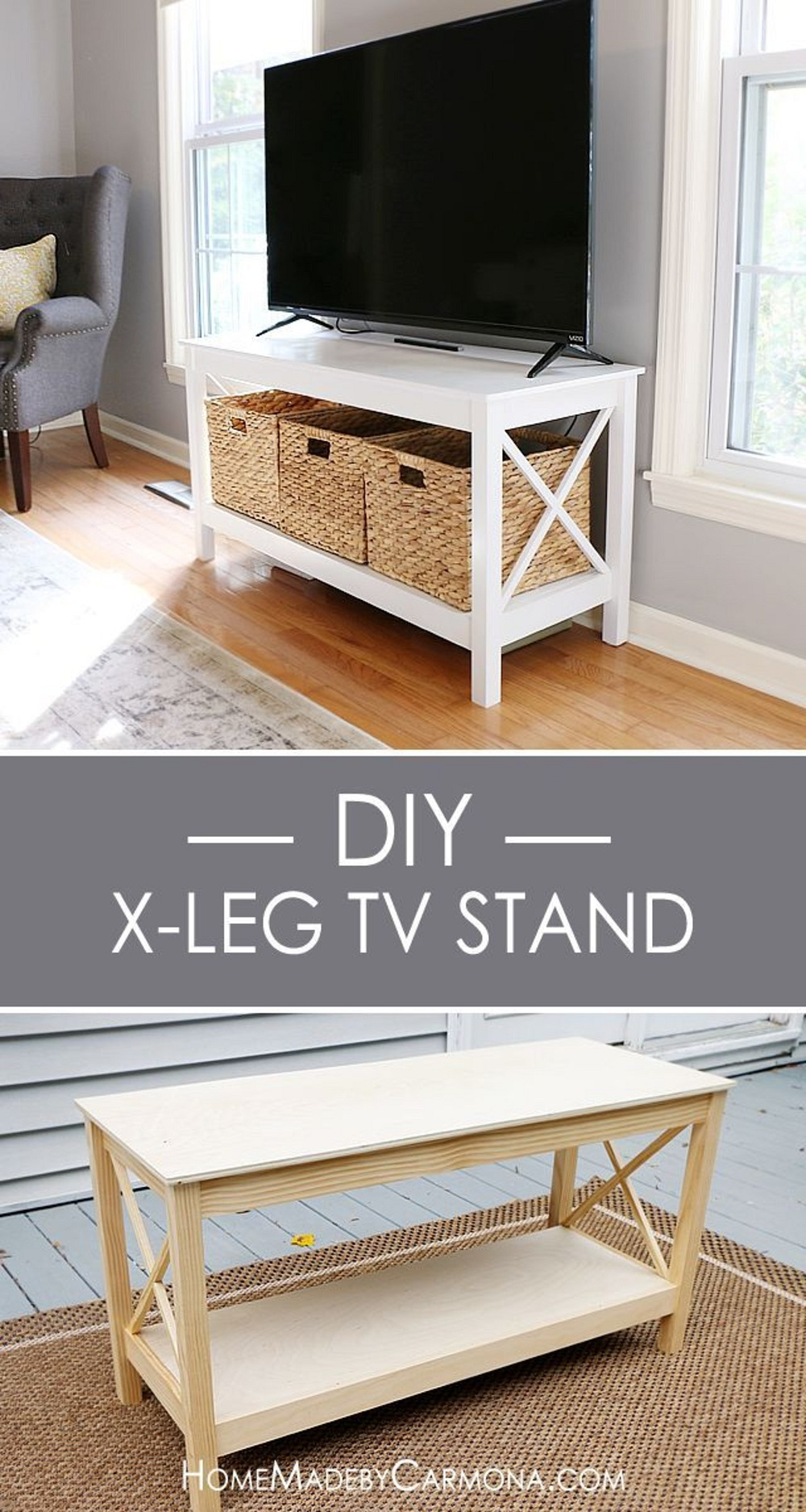 pix4-7 DIY TV stand ideas and examples that you can put up in your home