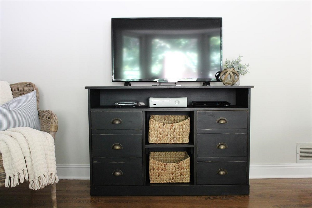 pix3-7 DIY TV stand ideas and examples to put in your home