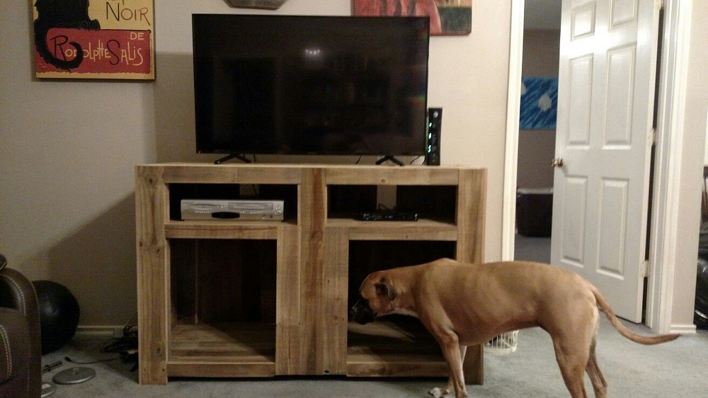 pix2-5 DIY TV stand ideas and examples that you can put in your home