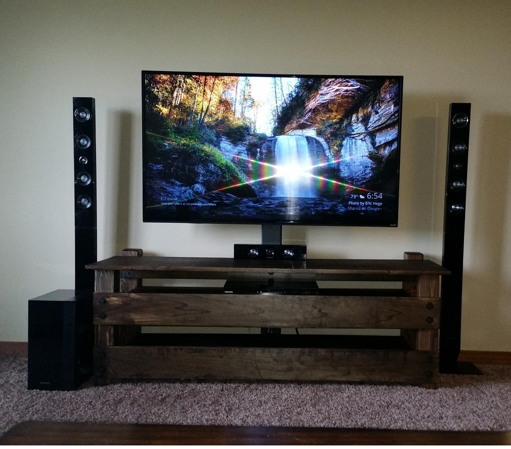 tv8 DIY TV stand ideas and examples to put in your home