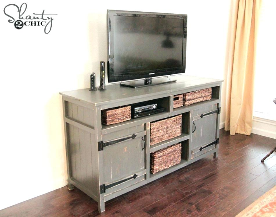 tv10 DIY TV stand ideas and examples that you can put up in your home