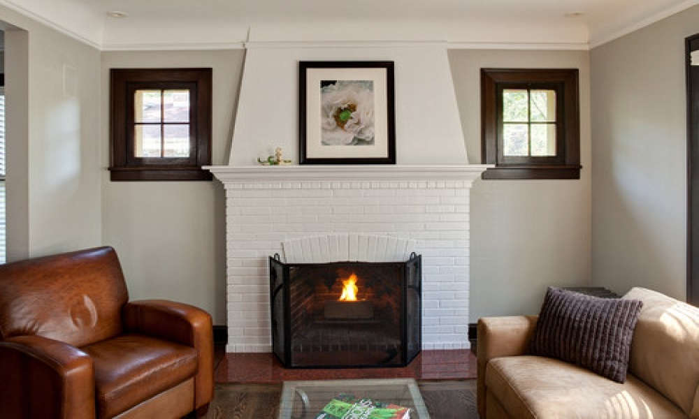 bf14-1 How to make a breathtaking renovation of the brick fireplace