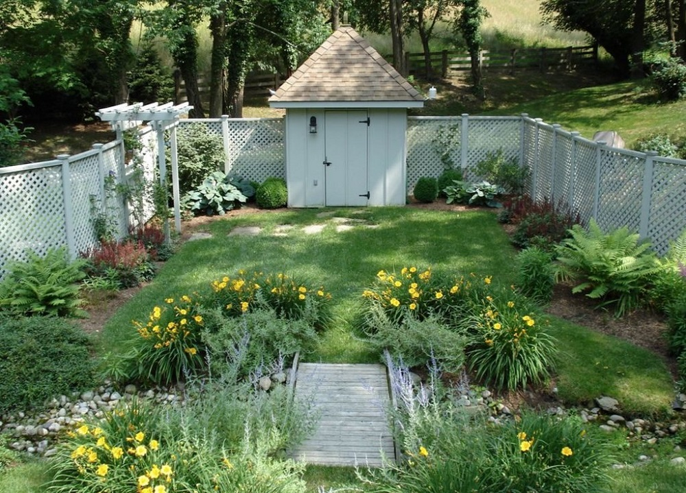 g7-1 Garden fence ideas that are practical and also look good