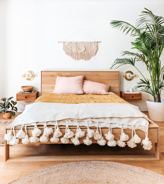 Wood-2 Scandinavian bedroom ideas that will inspire you to remodel