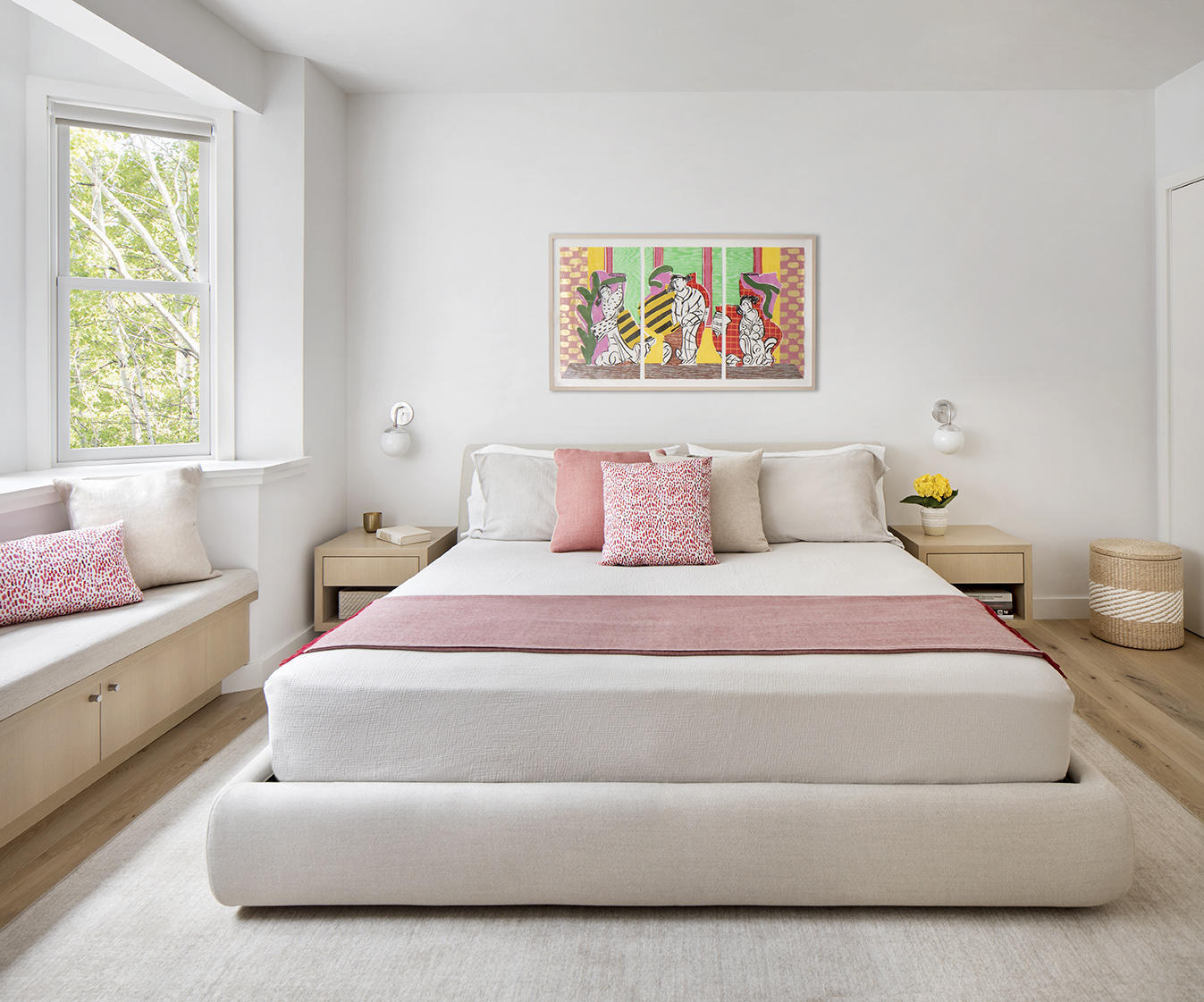 pink Scandinavian bedroom ideas that will inspire you for a remodel