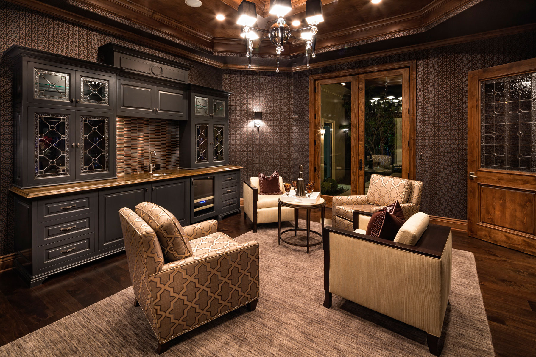 wood-1 living room wallpaper tips and ideas for your walls