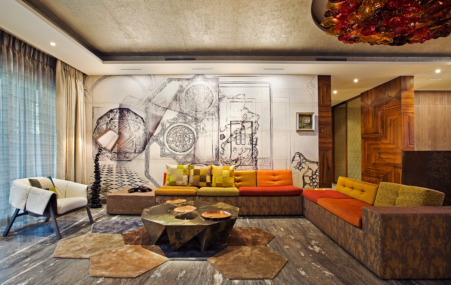 Art living room wallpaper tips and ideas for your walls