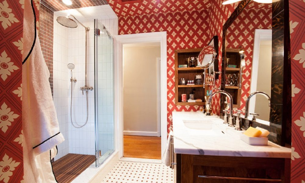 home-design-8-2-1000x600 Bathroom wallpaper ideas to try in your home