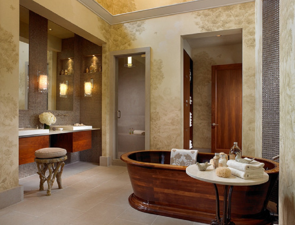home-design-11-2 bathroom wallpaper ideas to try in your home