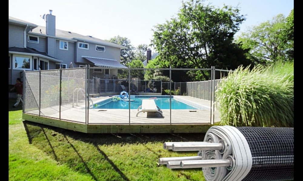mesh-1000x600 pool fence ideas to make the pool look fantastic