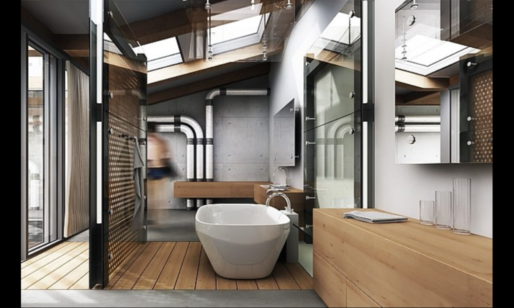 image1-1000x600 Ideas for industrial bathrooms that look really modern and inspiring