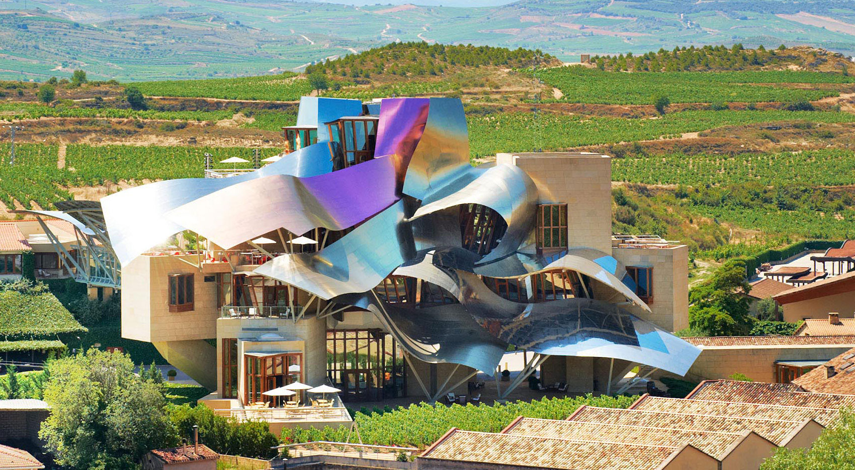 Marqués-de-Riscal-Vineyard-Hotel Modern architects you should know and their great work