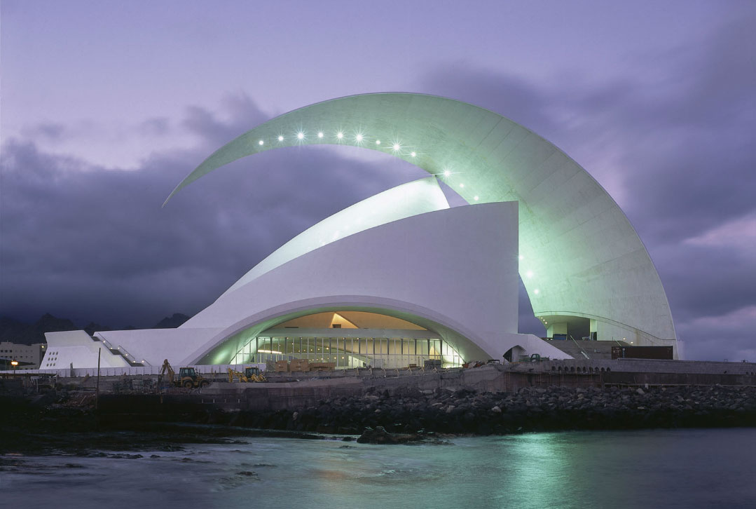 Auditorio-de-Tenerife Modern architects you should know and their great work